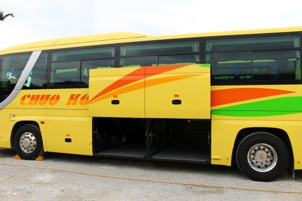 沖縄・貸切バス(中央交通)中型バス・トランク