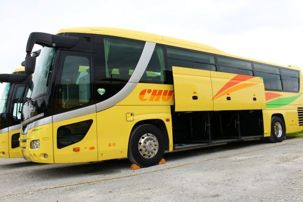 沖縄・貸切バス(中央交通)大型バス・トランク