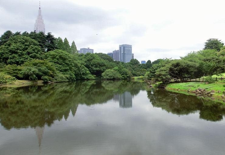 新宿御苑ポケゴー