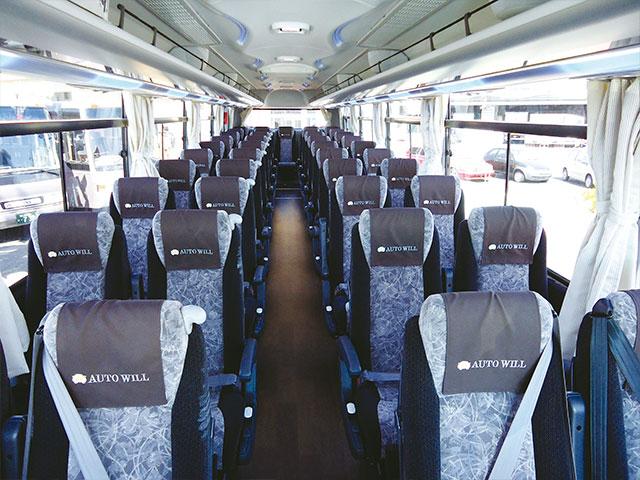 大型バス - 車内