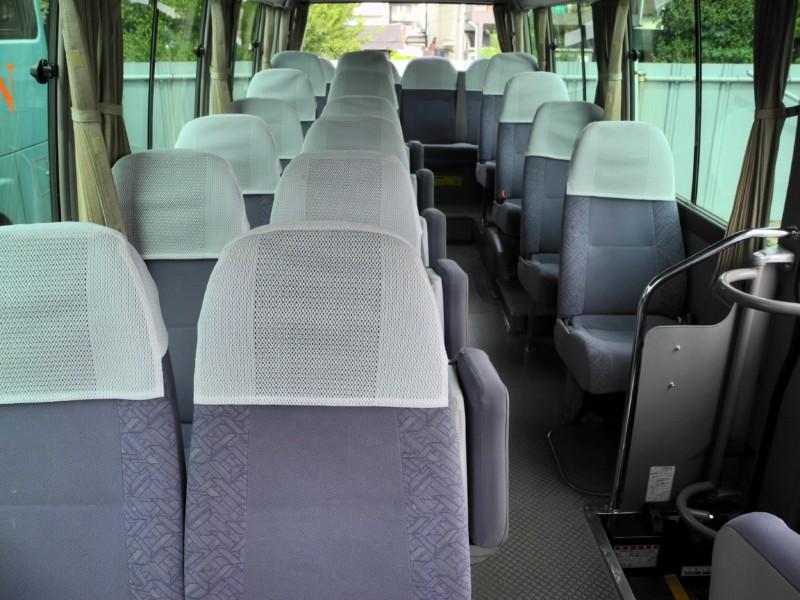 マイクロバス - 車内・乗降口