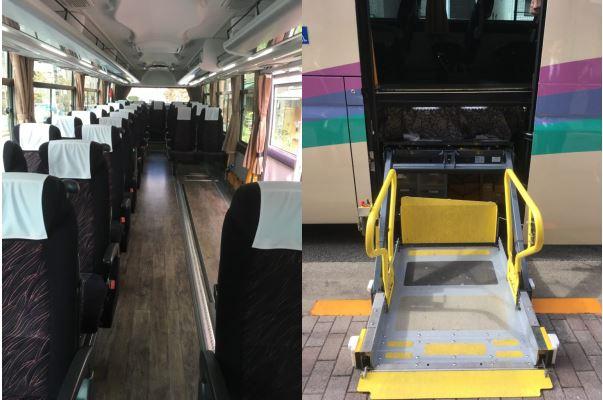 リフト付きバス(観光)