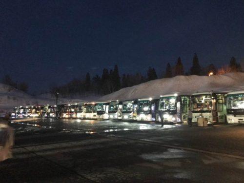 つなん雪まつり・スカイランタンバスツアー